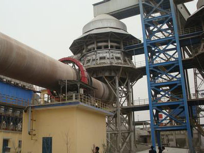 Large cement rotary kiln