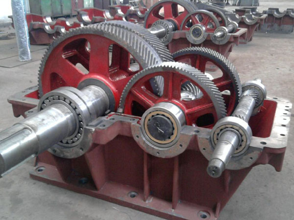 Arc gear reducer