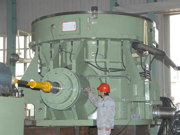 Vertical mill series reducer